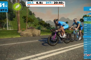 zwift virtual training